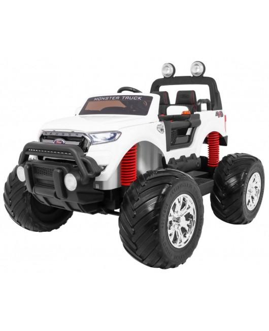 Elektrické autíčko Ford Ranger 4x4 Monster biele